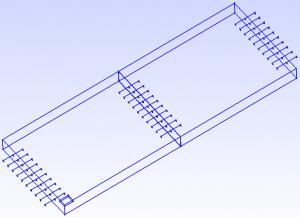 FEM Modelbildung der Betondecke mit Querfugen